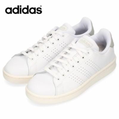 adidas アディダス メンズ 靴 EE7683 スニーカー ADVANCOURT LEA U アドヴァンコート コート系 ホワイト パンチング
