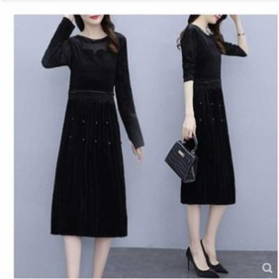 [三太郎の日はポイント3倍!] 予約商品 大きいサイズ レディース  春夏新作 韓国 ファッション ワンピース L-5XL  ゆったり 体型カバー
