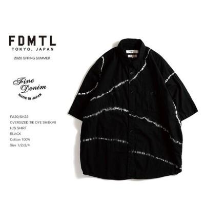 【SOLD OUT】 FDMTL OVERSIZED TIE DYE SHIBORI H/S SHIRT 半袖シャツ fa20ss