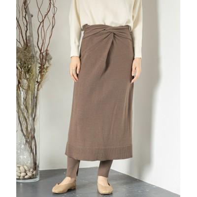 SENSE OF PLACE by URBAN RESEARCH / MULTIWAYツイストニットスカート WOMEN スカート > スカート