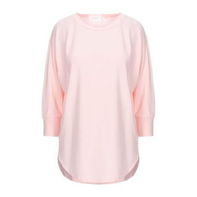 SLOWEAR T シャツ ライトピンク 44 コットン 100% T シャツ