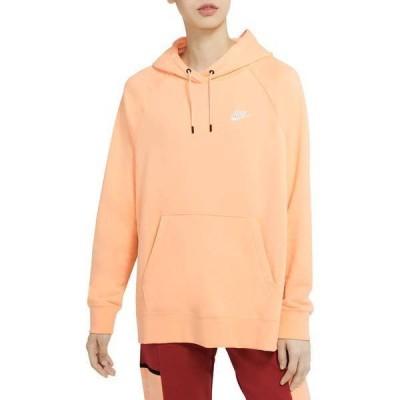 ナイキ レディース パーカー・スウェット アウター Nike Women's Plus Size Sportswear Essential Fleece Pullover Hoodie