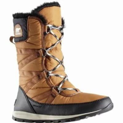 ソレル ブーツ Whitney Tall Lace II Boot Camel Brown