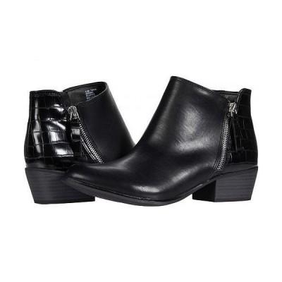Esprit エスプリット レディース 女性用 シューズ 靴 ブーツ アンクル ショートブーツ Tonya - Black PU