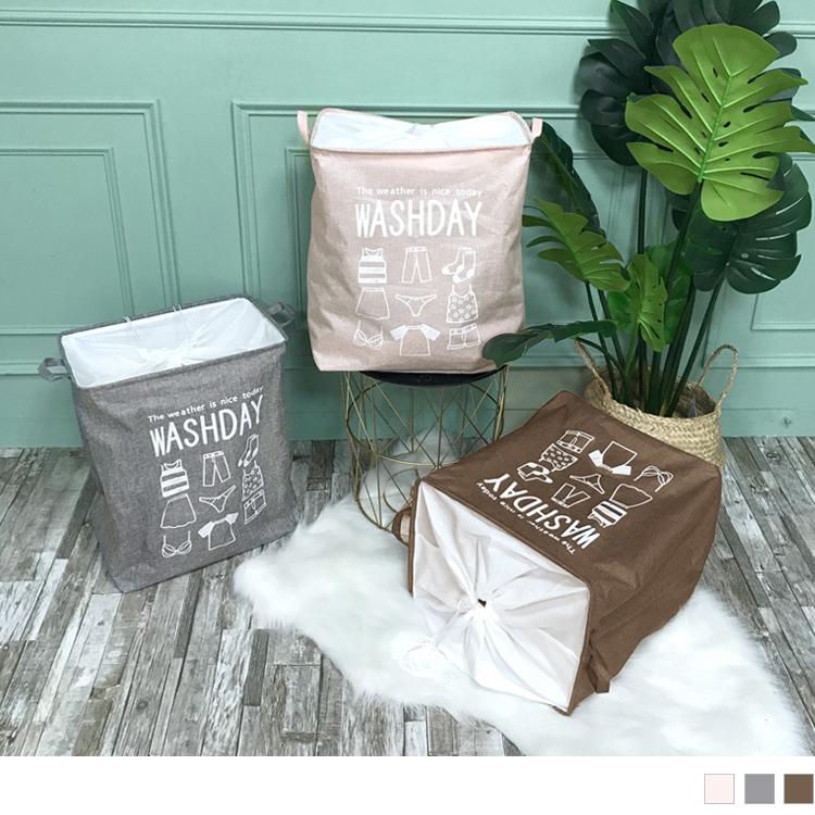大容量換季收納棉麻袋