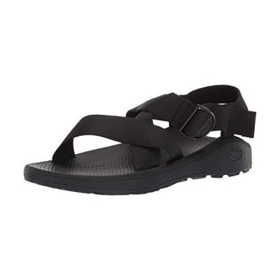 Chaco Men's MEGA Z Cloud Sport Sandal, Solid Black, 9 M US