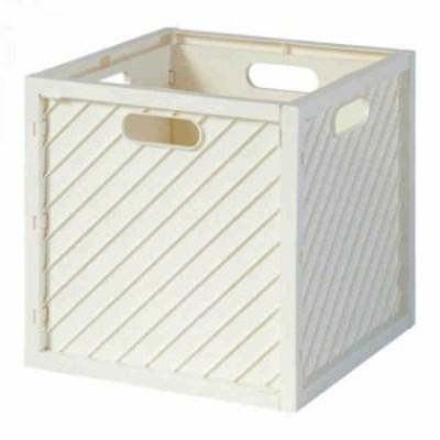 491607 収納ボックス ハコボライト ストレージボックス WHITE(支社倉庫発送品)