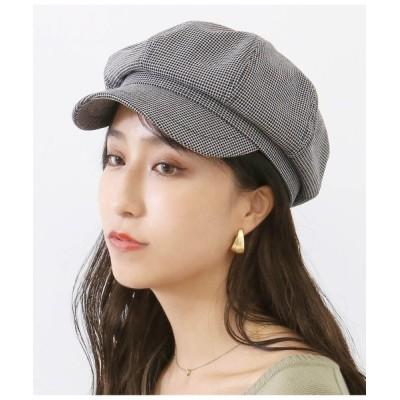CHILLE / チェック柄キャスケット WOMEN 帽子 > キャスケット