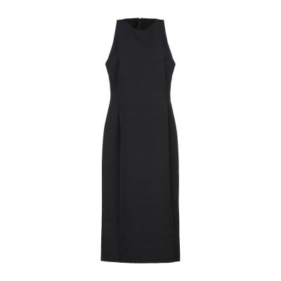 マニラ グレース MANILA GRACE 7分丈ワンピース・ドレス ブラック 38 ポリエステル 90% / ポリウレタン 10% 7分丈ワンピー