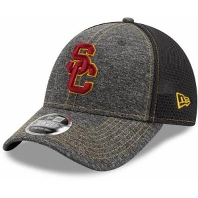 ニューエラ メンズ 帽子 アクセサリー New Era Men's USC Trojans Grey 9Forty Neo Adjustable Hat