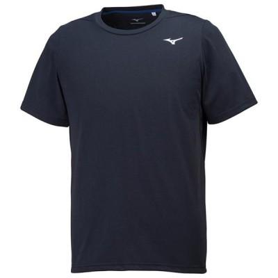 【在庫処分】【送料290円】ミズノ Tシャツ メンズ ブラック Mizuno 32MA8111 09