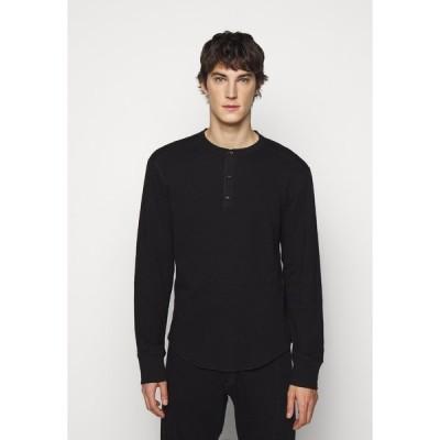 ラグアンドボーン カットソー メンズ トップス GIBSON  - Long sleeved top - black