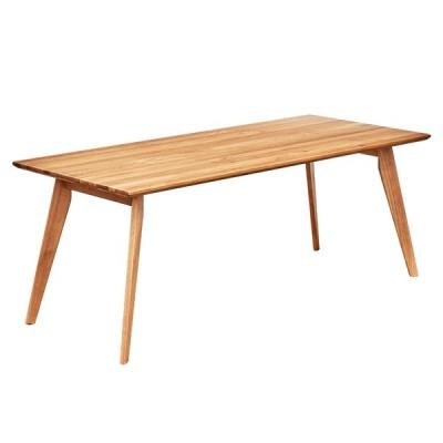 ダイニングテーブル ダイニング ミーティングテーブル 作業台 ワークデスク 180cm幅 テーブル単品 KIND(カインド) 幅180cm オーク 2色対応