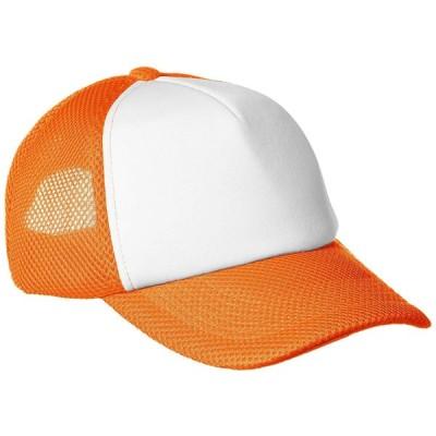 Printstar(プリントスター) 00708-RVC RVCラッセルイベントキャップ[オレンジ×ホワイト]フリー
