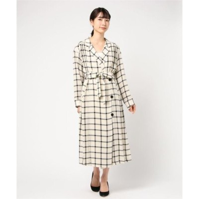 ドレス Big plaid dress