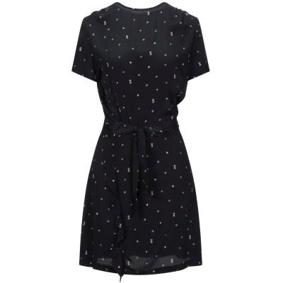 セッスン SESSUN ミニワンピース&ドレス ブラック XS レーヨン 100% ミニワンピース&ドレス