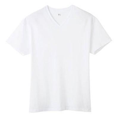 グンゼ YG  YV0615 VネックTシャツ 白 M/L/LL