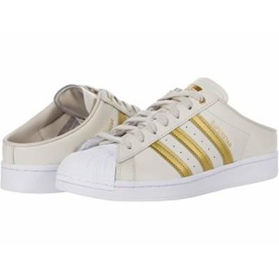 (取寄)アディダス オリジナルス スーパースター ミュール adidas Originals Superstar Mule Clear Brown/Gold Metallic/Footwear White