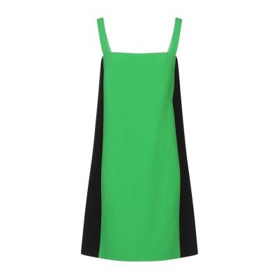 RALPH LAUREN COLLECTION ミニワンピース&ドレス ビタミングリーン 6 レーヨン 100% ミニワンピース&ドレス