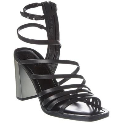 フランコサルト サンダル シューズ レディース Franco Sarto Winnie Leather Sandal black leather