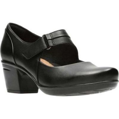 クラークス Clarks レディース シューズ・靴 Emslie Lulin Mary Jane Black Full Grain Leather