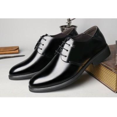 ビジネスシューズ 紳士靴 メンズ 本革   革靴  ブラック