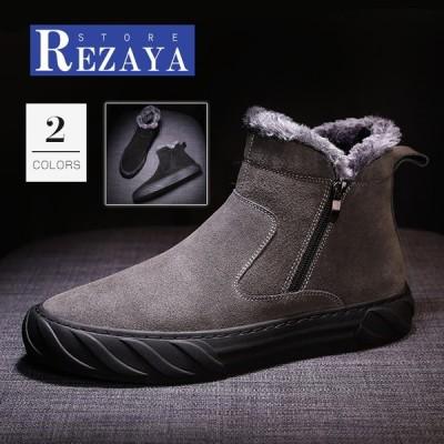 ムートンブーツ ショートブーツ メンズブーツ ワークブーツ イギリス風  ヴィンテージ 裏起毛 カジュアル 冬靴  防滑 防寒 オシャレ  暖かい