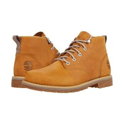 Timberland ティンバーランド メンズ 男性用 シューズ 靴 ブーツ チャッカブーツ Redwood Falls Waterproof Chukka - Wheat Full Grain