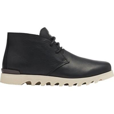 ソレル Sorel メンズ ブーツ チャッカブーツ シューズ・靴 Kezar WP Chukka Black