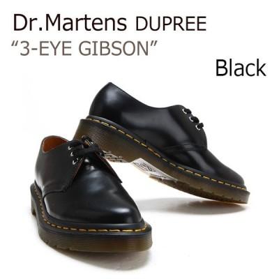 Dr.Martens Dupree 3-eye Gibson / Black / レディース 【ドクターマーチン】【21109001】【シ スニーカー