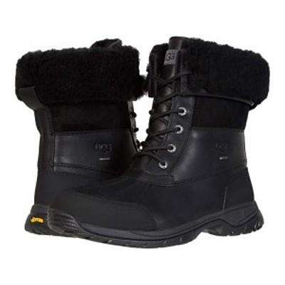 (取寄)アグ ビュート UGG Butte Black Leather