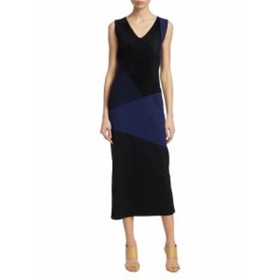 ダイアンフォンファステンバーグ レディース ワンピース Colorblocked Midi Dress