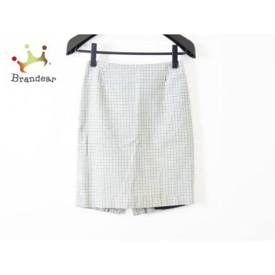 ドゥーズィエム DEUXIEME CLASSE スカート サイズ36 S レディース 白×黒×グリーン             スペシャル特価 20200120