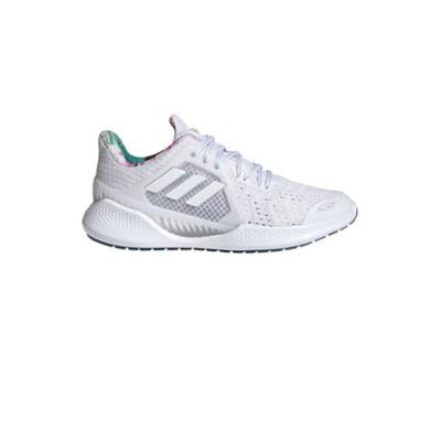 アディダス(adidas)ランニングシューズ クライマクール ベント FZ2406 スポーツシューズ ホワイト 白 通学 学生