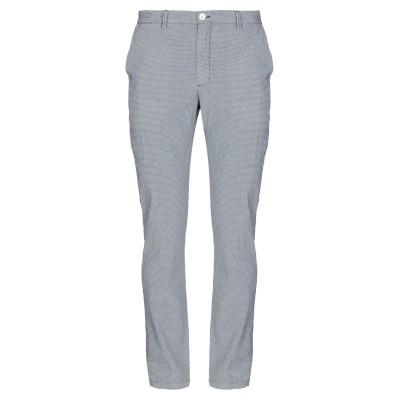 YAN SIMMON パンツ ブルー 36 コットン 50% / ポリエステル 47% / ポリウレタン 3% パンツ