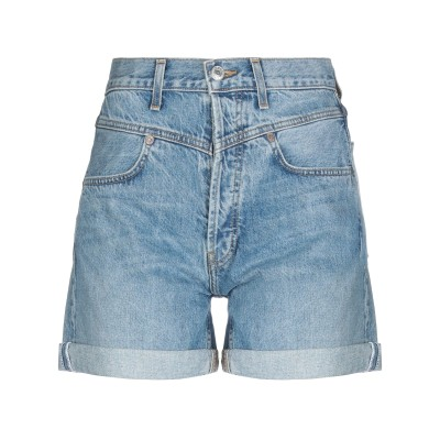 RE/DONE デニムショートパンツ ブルー 28 コットン 100% デニムショートパンツ