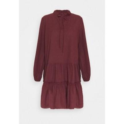 トレンドヨル レディース ワンピース トップス BORDO - Day dress - burgundy burgundy