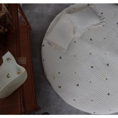 プレミアムイブル lemon レモン刺繍ラウンドマット TRICK HOLIC トリックホリック