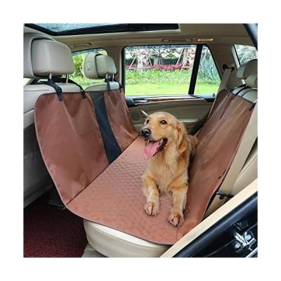 Petsfit ペット用ドライブシート 後部座席 車用ペットシート  コーヒー