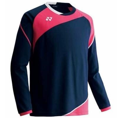 ヨネックス YONEX スポーツウェア ゲームシャツロングスリーブ(ユニセックス) [カラー:ネイビーブルー] [サイズ:S] #FW1005-019