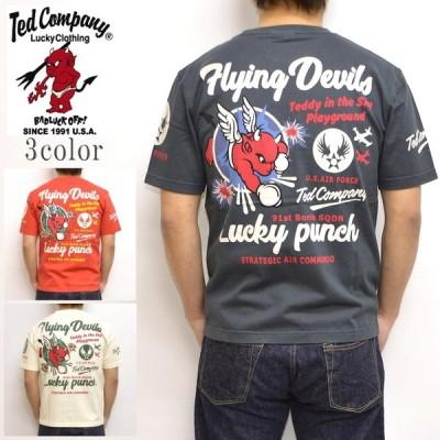 テッドマン TEDMAN TDSS-490 半袖Tシャツ  FLYING DEVIL