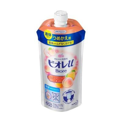 花王 ビオレu ボディウォッシュ スイートピーチの香り つめかえ用 340ml 1パック