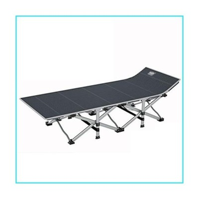 JXDD Folding Camping Cot for Adults,with Storage Bag,Suitable for Indoor and Outdoor Use,Office, Camping,Comfortable and Easy to Car