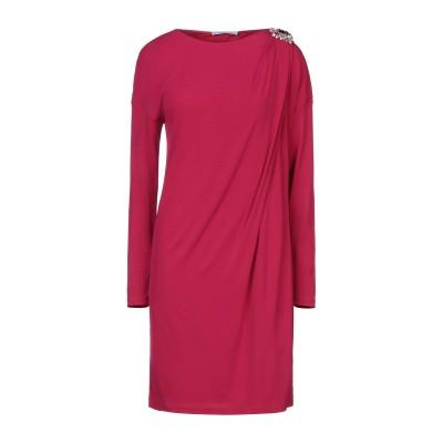 ブルマリン BLUMARINE ミニワンピース&ドレス ガーネット 42 94% レーヨン 6% ポリウレタン ミニワンピース&ドレス