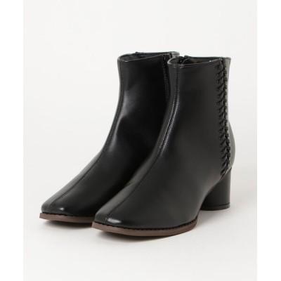 chumchum / SUGAR SUGAR /スクエアトゥサイドデザインブーツ WOMEN シューズ > ブーツ