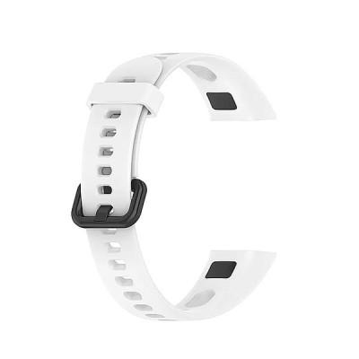 1pc 2020新 ソフト シリコン スポーツ ストラップ とバックル交換 時計 バンド huawei社 バンド 4名誉 バンド 5i スマ