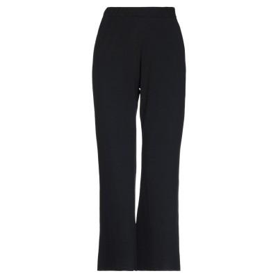 AU PETIT BONHEUR パンツ ブラック M コットン 96% / ポリウレタン 4% パンツ