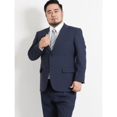 【大きいサイズ】 トラベスト/TRABEST 千鳥グレー 2パンツスーツ