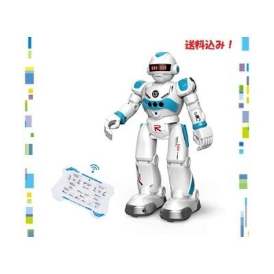 DEERC ロボット おもちゃ 電動ロボット ラジコン 男の子 多機能ロボット プログラム可能 手振り制御 男の子 女の