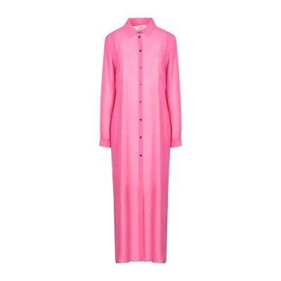 TOY G. 7分丈ワンピース・ドレス フューシャ 44 ポリエステル 100% 7分丈ワンピース・ドレス